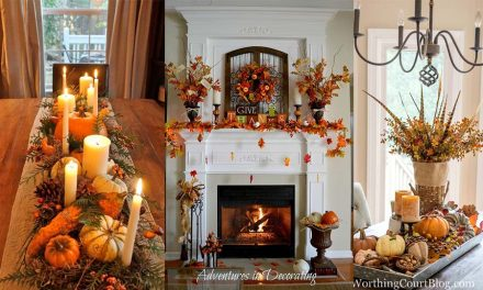 25+ DIY Thanksgiving Decorations for Home