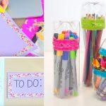 Back to School DIY Ideas – Genius Crafts for Better Organization