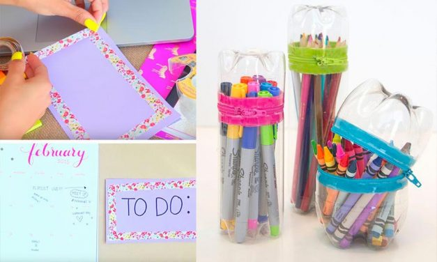 Back to School DIY Ideas – Genius Crafts for Better Organization