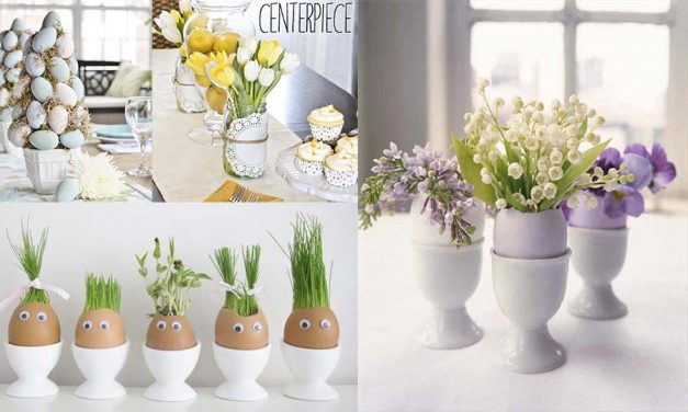 9 Stunning Easter Decorations DIY – Easter Crafts and Centerpieces