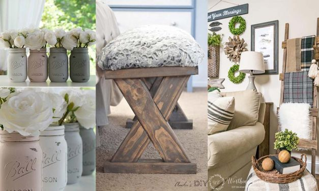 12 Easy DIY Farmhouse Decor Ideas You Will Love to Try