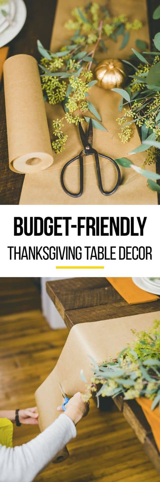 All my family loves Thanksgiving Day! It's an amazing time when everyone comes together and we all share and try new DIY Thanksgiving decor ideas.