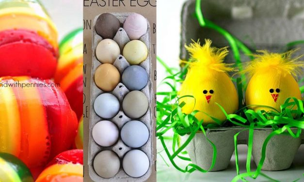 5 Easter Decorations – Easter Eggs Ideas for 2019!
