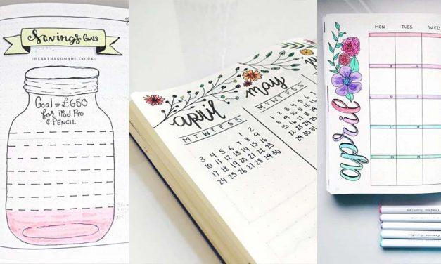 10 Bullet Journal Ideas For School