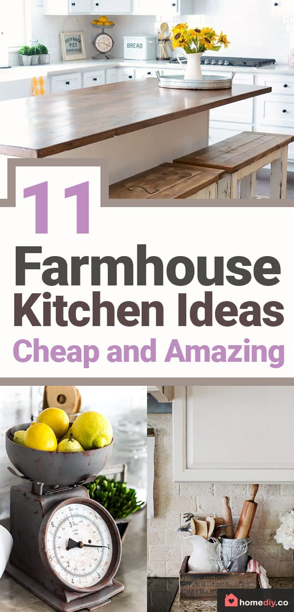 Working on farmhouse kitchen ideas for décor is an incredibly exciting if you are fascinated by the combination of modern design and cute vintage details.