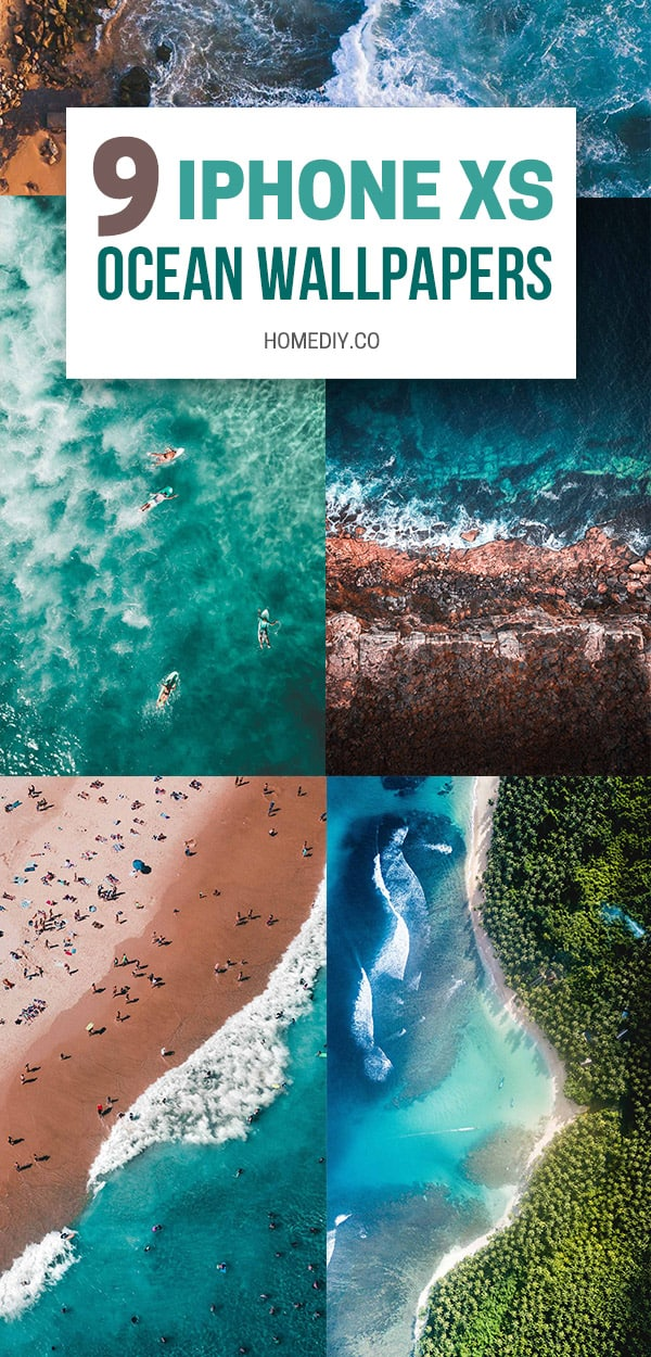 9 Best Ocean Iphone Xs Wallpapers Best Water Beach Sea Backgrounds Home Diy