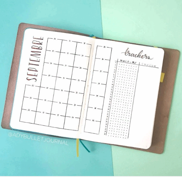 There are just a few bullet journal monthly layout design options. And we a sure that you can find even more of them! Try everything that inspires you! #bulletjournal #bujo #planner #journal #organization #organize #organizing #planneraddict
