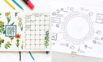 10 Bullet Journal Monthly Layout Creative Ideas