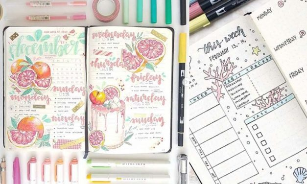 11 Bullet Journal Ideas for Weekly Layouts