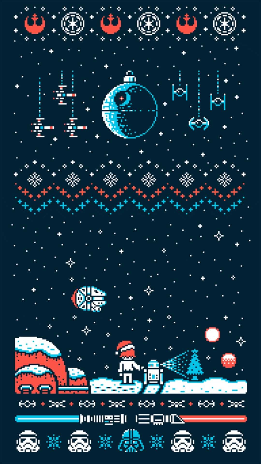 25 Christmas Wallpapers for iPhone – Cute and Vintage Backgrounds. Download a collection of free
