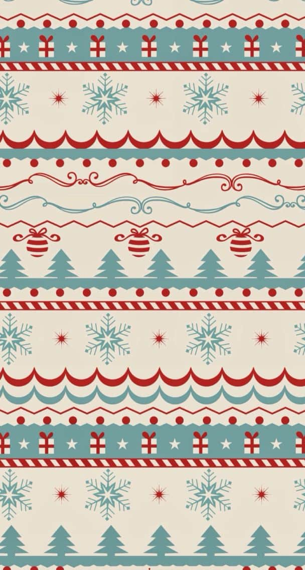 25 Christmas Wallpapers for iPhone – Cute and Vintage Backgrounds. Download a collection of free ...