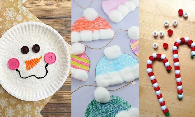 Christmas Crafts For Kids To Make – 14 DIY Easy Decorations For Children