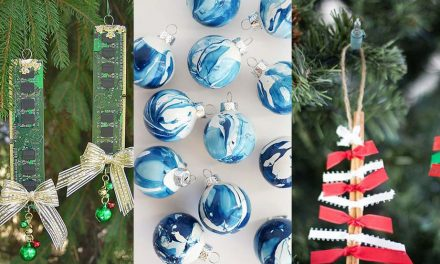 DIY Christmas Ornaments Ideas – 12 Elegant Easy Ornaments and Crafts