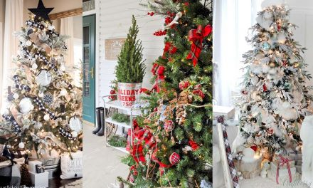 Christmas Tree Decorations – Best Themes and Ideas Farmhouse Style