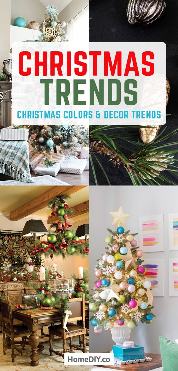 Trendy Christmas Colors 2020 Christmas Trends 2020   Christmas Colors and Decor Trends   Home DIY