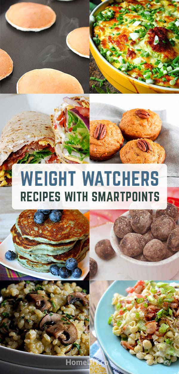 Weight Watchers Recipes with Smartpoints - Dinner, Chichen and Desserts. Weight Watchers Recipes come with a value called SmartPoints and the meals with higher in sugar and saturated fat have higher Smartpoints numbers. #weightwatchers #diet #smartpoints #food #recipes #healthyrecipes #healthyfood #health #delicious