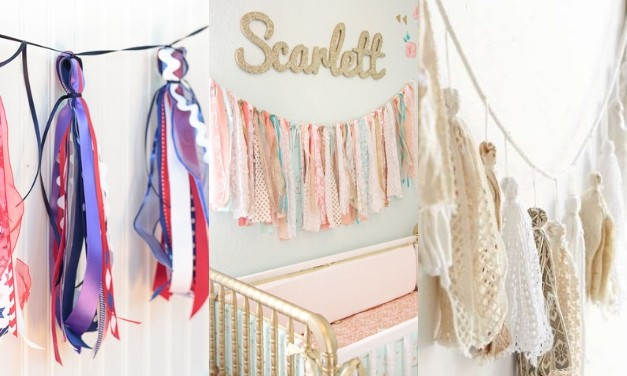 How to Make a DIY Tassel Garland – Using Paper, Flowers, Yarn, Fabric