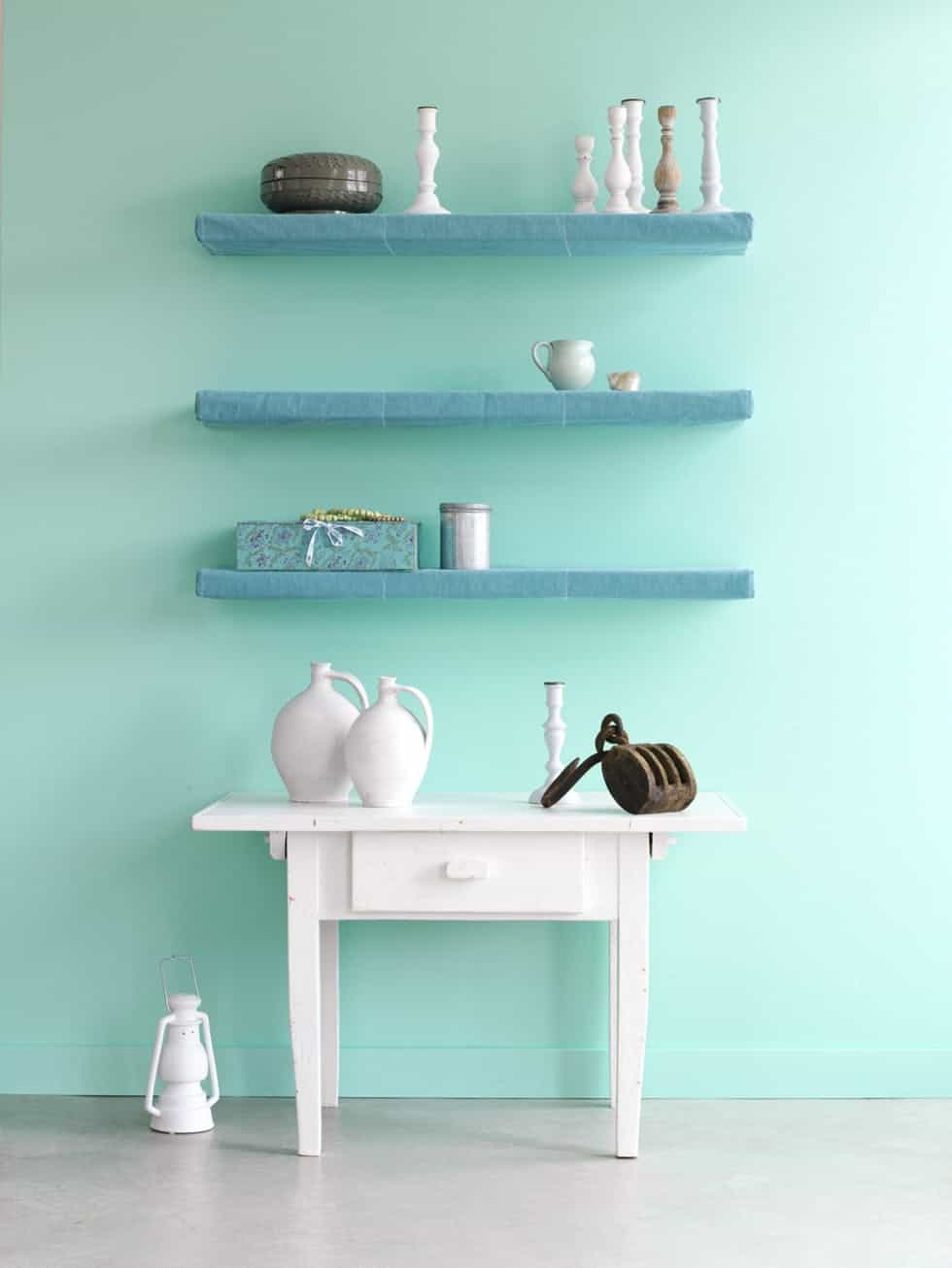 Aqua Mint home decor trend