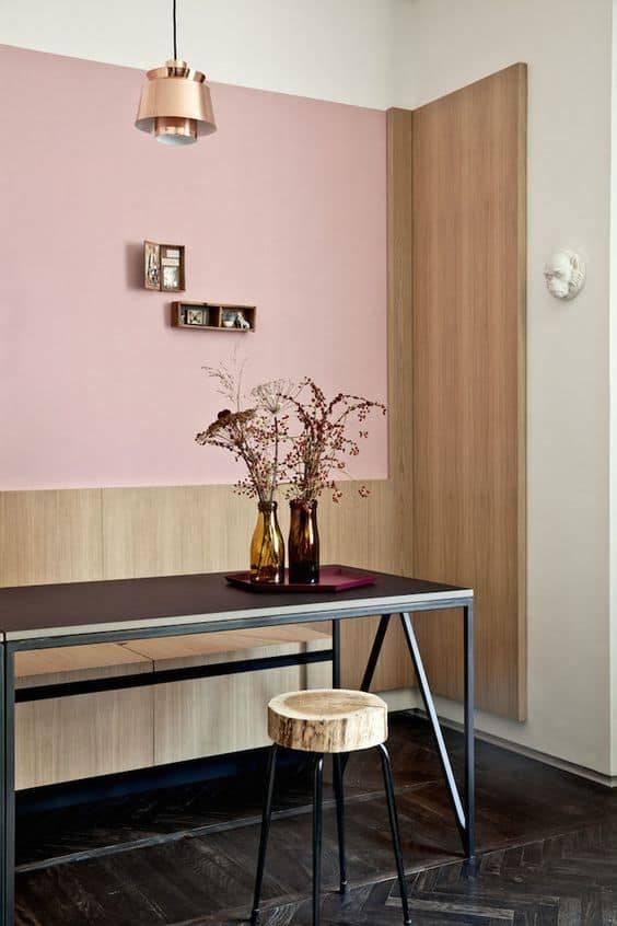 Pink interior design trend