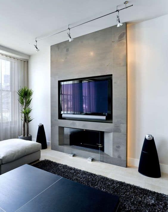 50 Modern Fireplace Ideas Best Contemporary Fireplaces 2021 Edition