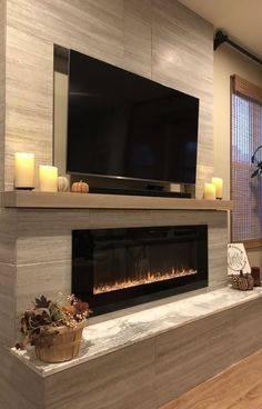 50 Modern Fireplace Ideas - Best Contemporary Fireplaces ...