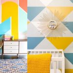 Geometric Wall Paint: Design Ideas With Tape (2020 Trends)