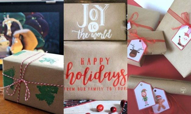 Unique Gift Wrapping Ideas and Tags for Gift Bags