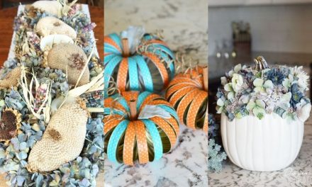 DIY Fall Decor – Farmhouse and Rustic Fall Decoration Ideas