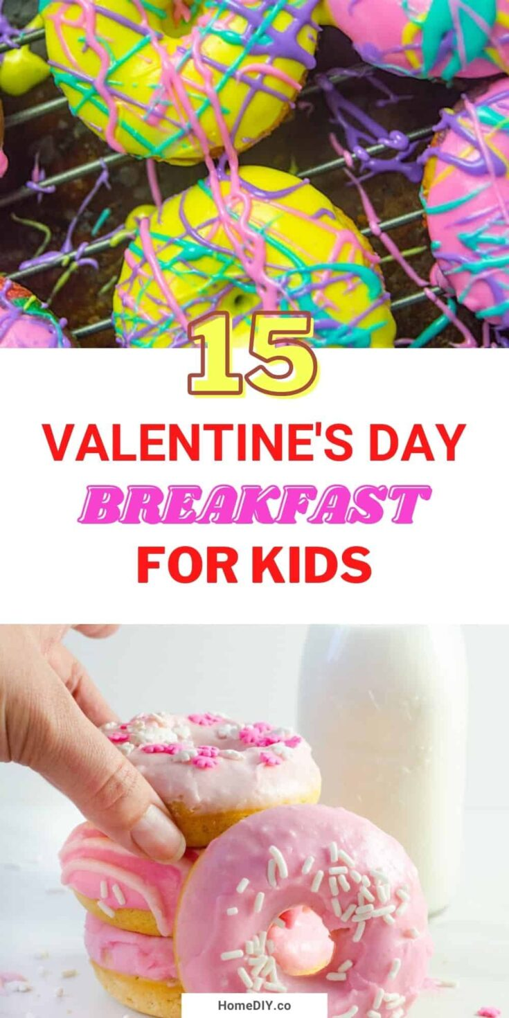 15 Cute Valentine's Day Breakfast Ideas for Kids
