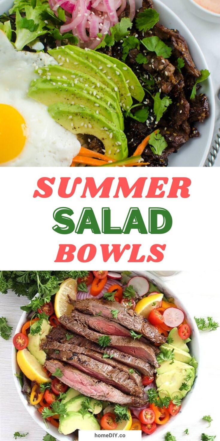15 Healthy And Refreshing Summer Salad Bowls