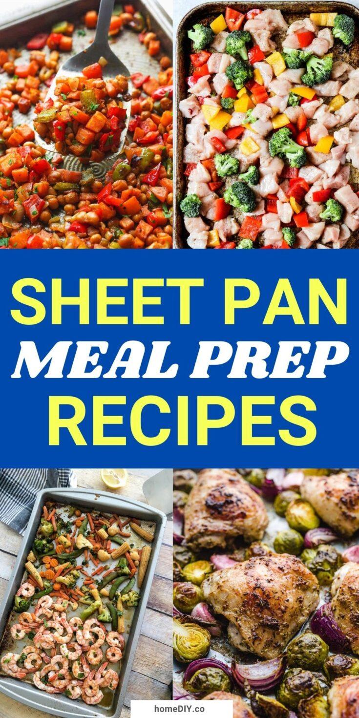 15 Easy Sheet Pan Meal Prep Recipes