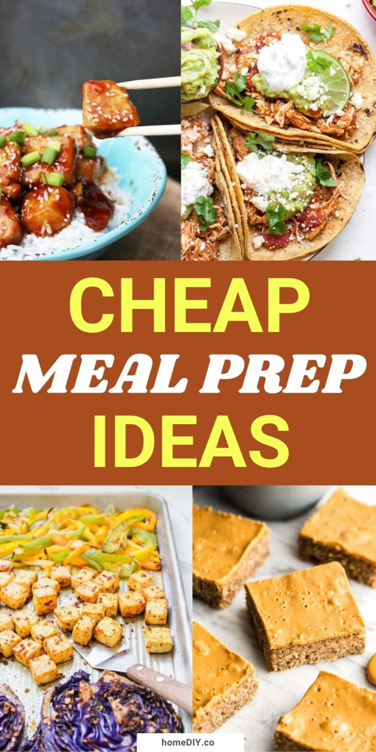 15 Budget-Friendly Meal Prep Ideas