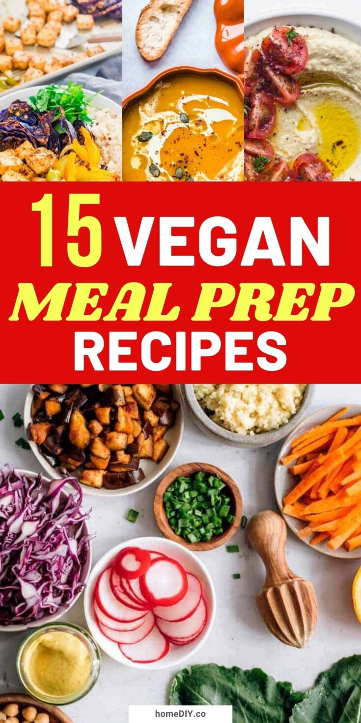 15 Healthy Vegan Meal Prep Recipes for Weight Loss