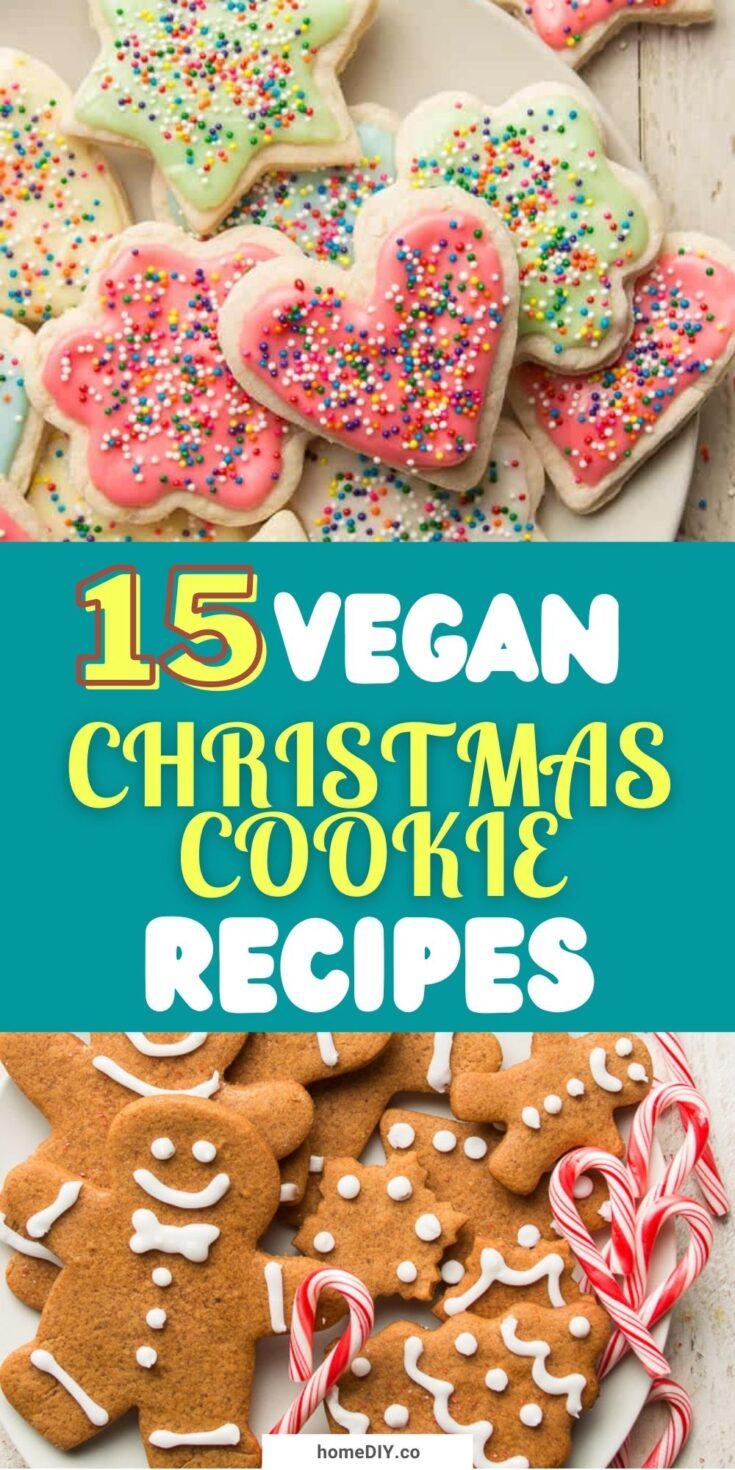 15 Festive Vegan Christmas Cookie Recipes