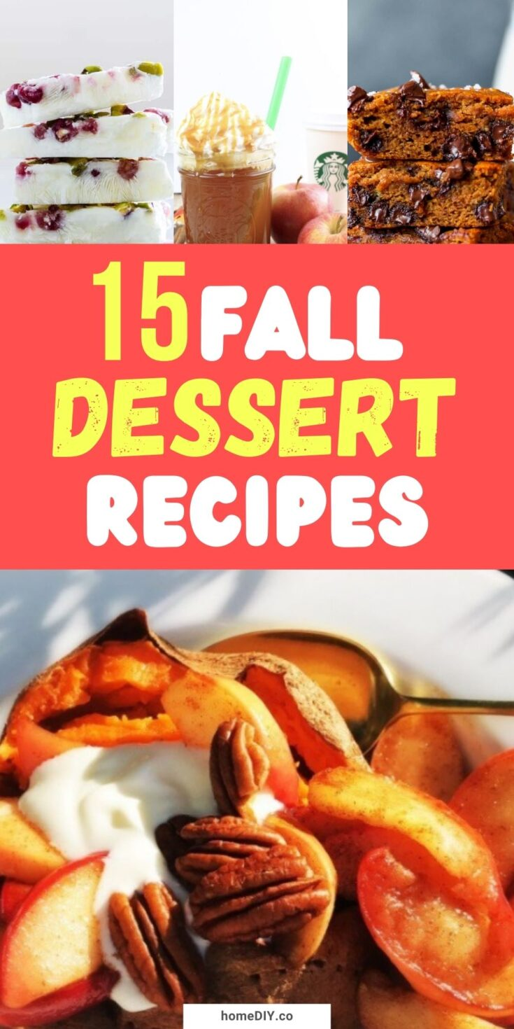 15 Tasty And Healthy Fall Dessert Recipes