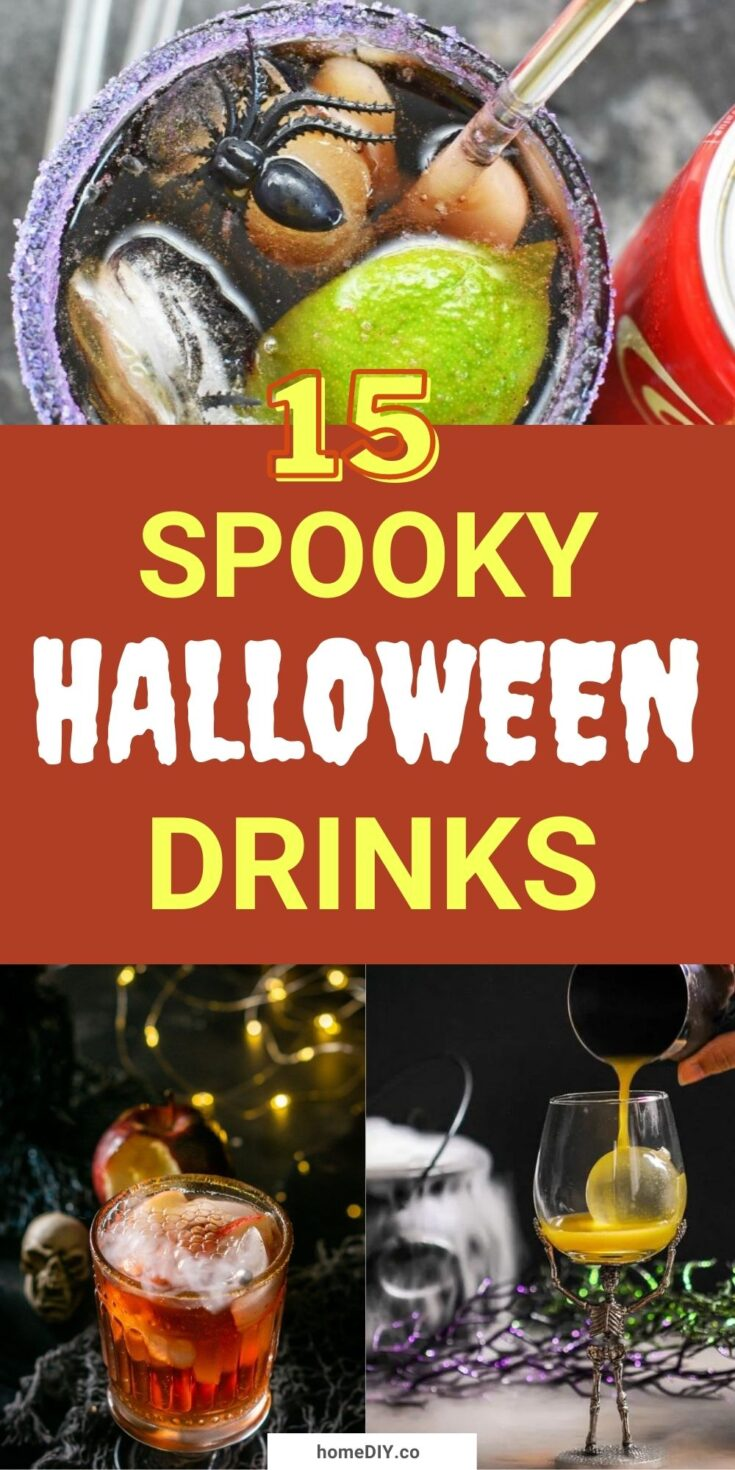 15 Spooky And Tasty Halloween Drinks and Punch Recipes