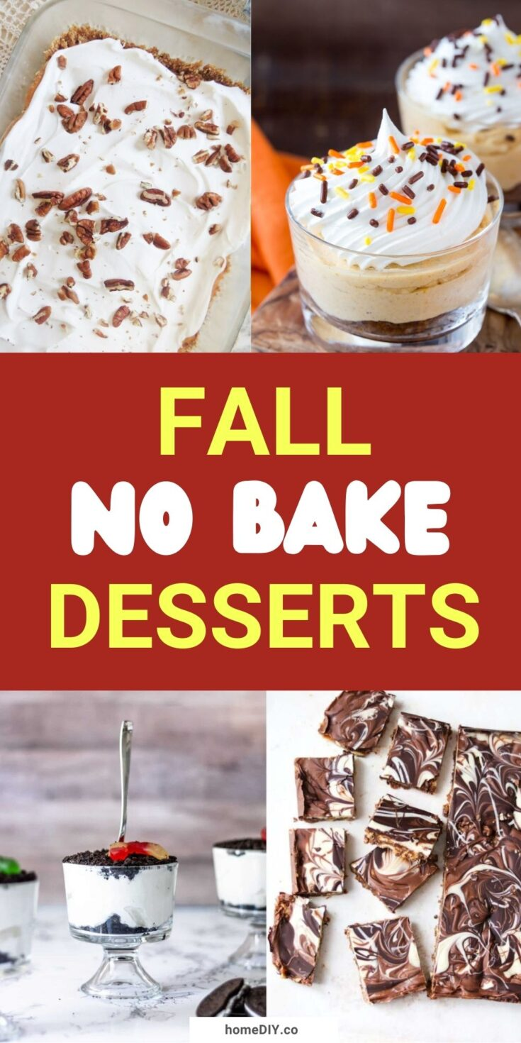 15 Best No-Bake Fall Desserts | Healthy Fall Recipes