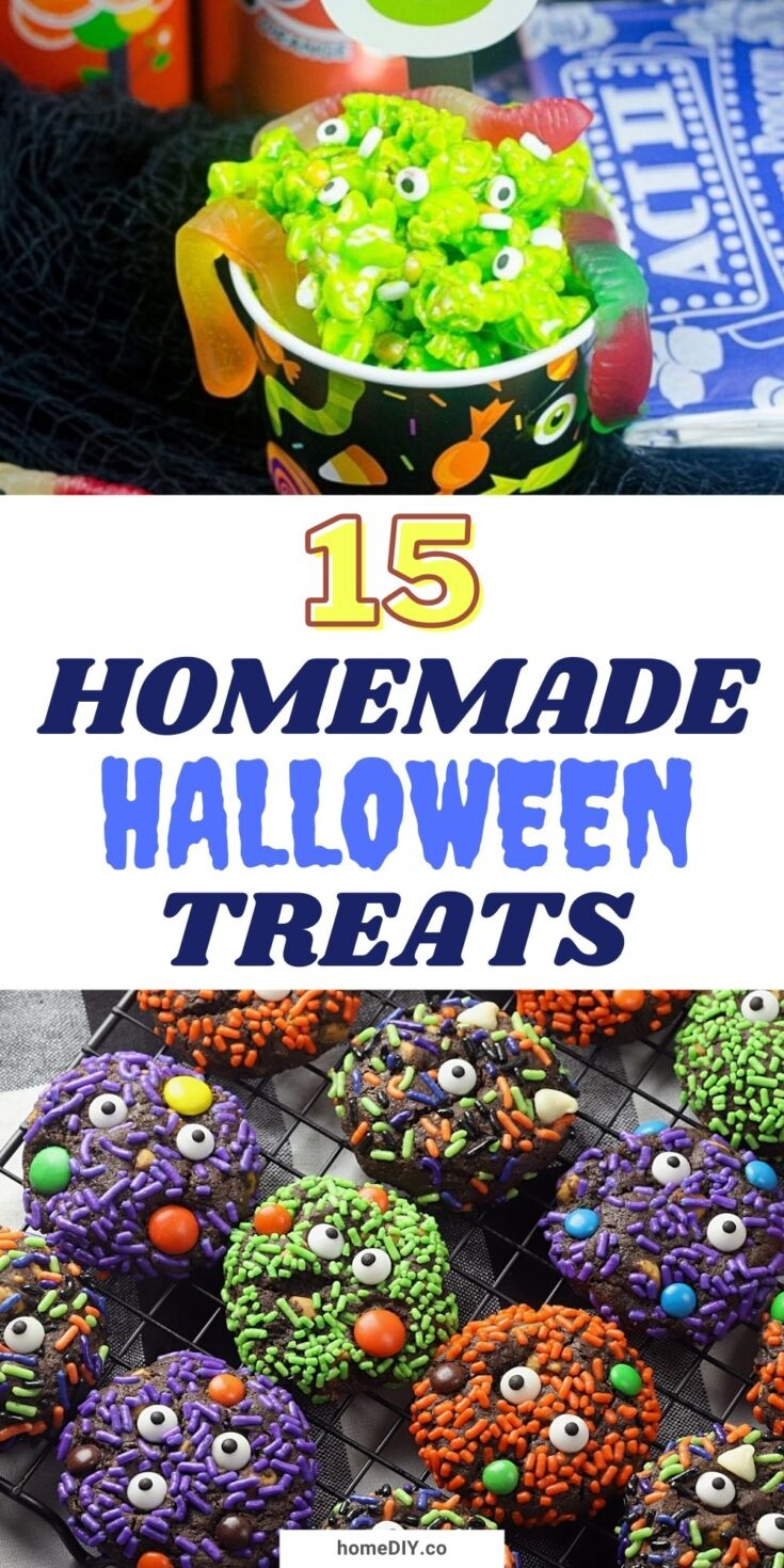 15 Spooky Homemade Halloween Treats For A Party
